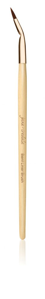 Bent liner brush